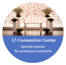 63 convention centers, meeting in a special space precious moments
