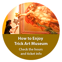 How to Enjoy Trick Art Museum, Check the hours and ticket info